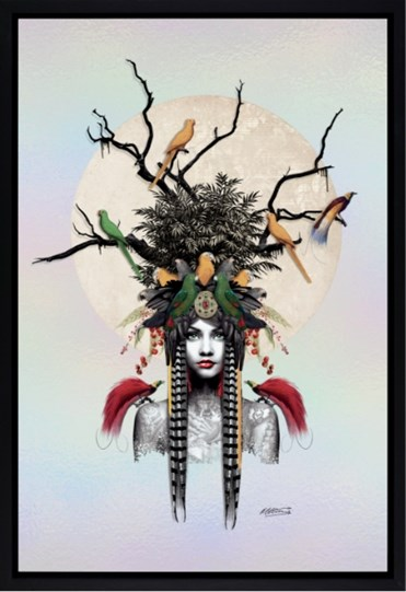 Maiden of the Forest by Matt Herring - Framed Limited Edition on Board