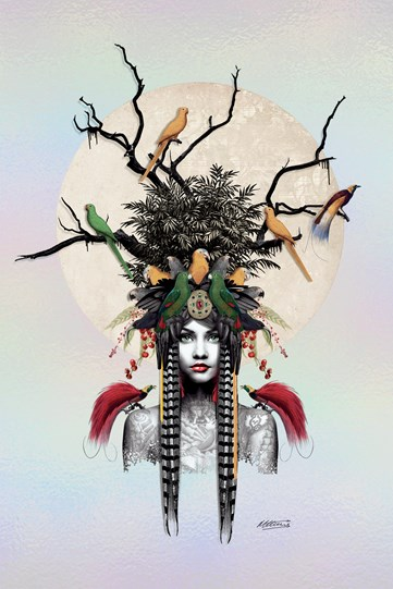 Maiden of the Forest by Matt Herring - Limited Edition on Board